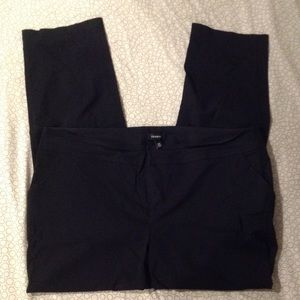 TORRID black straight leg dress pants